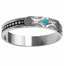 Brighton Southwest Dream Bangle Turquoise