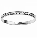 Brighton Southwest Dream Plaza Flat Rope Bangle