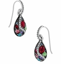 Brighton Trust Your Journey French Wire Earrings Silver-Multi