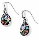 Brighton Trust Your Journey French Wire Earrings Silver-Pastel Multi