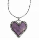 Brighton Twinkle Amor Necklace Purple