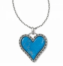 Brighton Twinkle Amor Necklace Turquoise