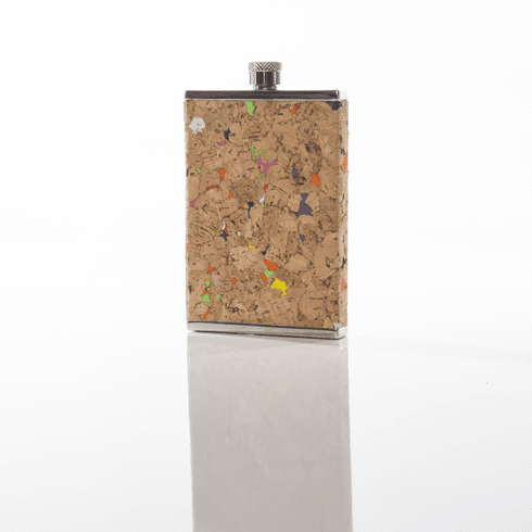 Brouk and Co Corked Flask, 3 ounce - Speckles