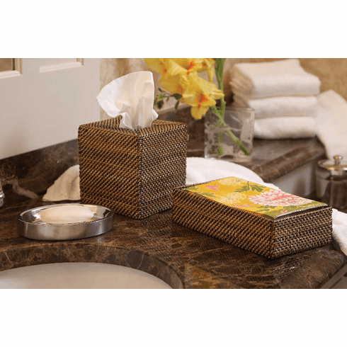 Calaisio Rectangular Guest Towel Holder 9x6x2.25
