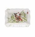 Casafina Deer Friends White Medium Rectangular Baker
