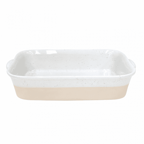 Casafina Fattoria White Medium Rectangular Baker