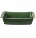 Casafina Fontana Forest Green Large Rectangular Baker