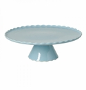 Casafina Forma Blue Large Footed Plate