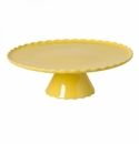 Casafina Forma Yellow Large Footed Plate