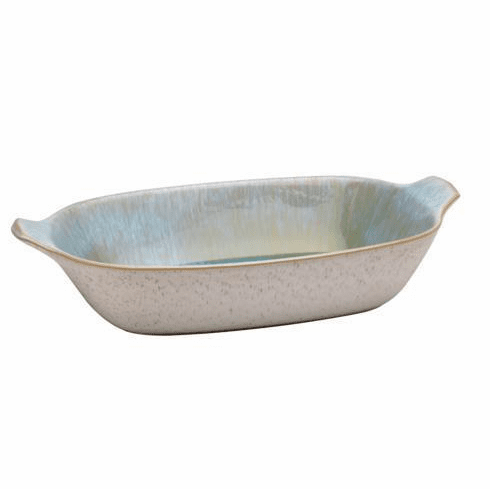 Casafina Ibiza Sea Large Rectangular Baker with Handles Sea