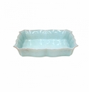 Casafina Impressions Egg Blue Large Rectangular Baker