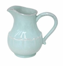 Casafina Impressions Robins Egg Blue Large Pitcher