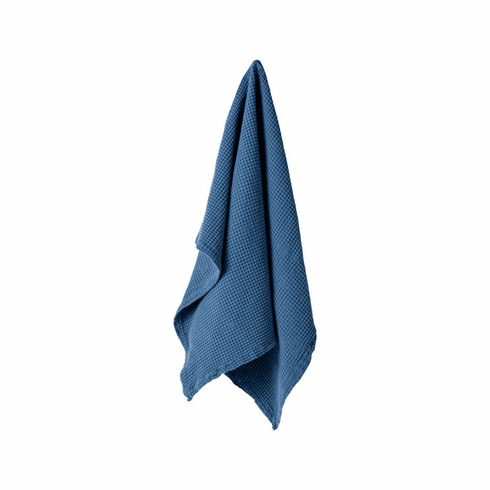 Casafina Kitchen Towels - Osteria Blueberry Kitchen Towel Micro Waffle
