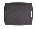 Casafina Large Rectangular Tray Dark Gray