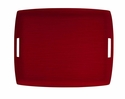 Casafina Large Rectangular Tray Red