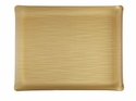 Casafina Medium Rectangular Tray Palm Gold