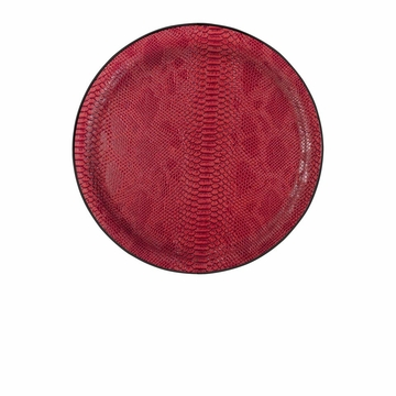 Casafina Medium Round Tray Red