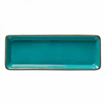 Casafina Sardegna Blue Rectangular Tray