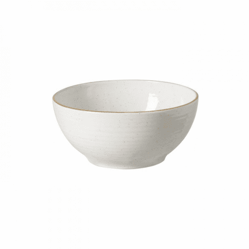 Casafina Sardegna White Footed Serving Bowl