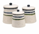 Casafina Sausalito White (3) Canisters White