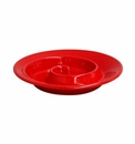 Casafina Spiral Appetizer Dish Red