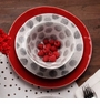Casafina Spot On Red Individual Pasta Bowl