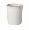 Casafina Taormina Bath White & Gold Waste Ceramic Basket