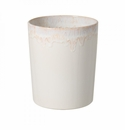 Casafina Taormina Bath White Waste Ceramic Basket
