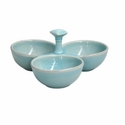 Casafina Three Section Server Robins Egg Blue