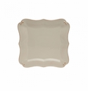Casafina Vintage Port Cream Square Dinner Plate (6)