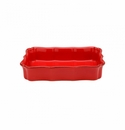 Casafina Vintage Port Red Medium Rectangular Baker