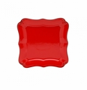 Casafina Vintage Port Red Square Dinner Plate (6)