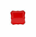 Casafina Vintage Port Red Square Salad Plate (6)