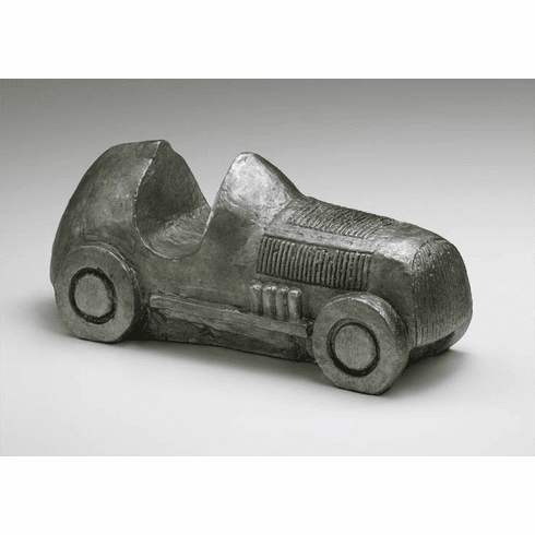 Cast Iron Pewter Automobile Sculpture by Cyan Design