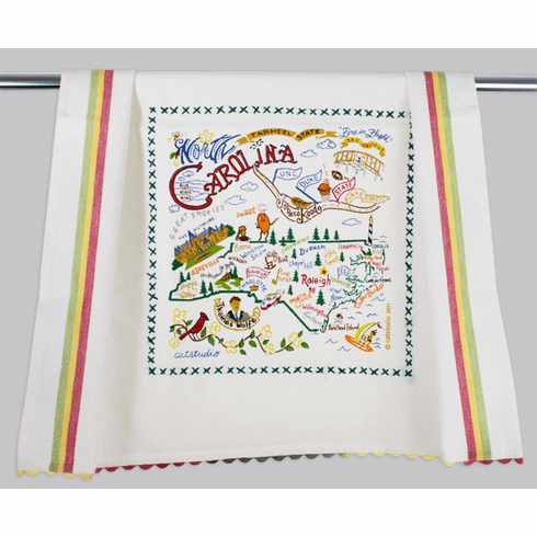 Cat Studio State Dish Towel - North Carolina