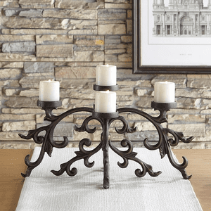 Centerpiece Candleholders and Tabletop Candelabras