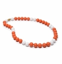 Chewbeads Spirit Necklace - Orange