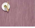 Chilewich Bamboo Table Mat 14X19 Rhubarb