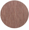 Chilewich Bamboo Table Mat 15 Round - Brick
