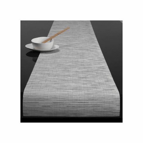 Chilewich Bamboo Table Runner 14x72 Chalk
