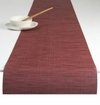 Chilewich Bamboo Table Runner 14x72 - Cranberry