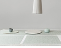 Chilewich Bamboo Table Runner 14X72 Seaglass