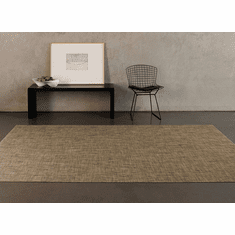 Chilewich Basketweave Floormat 23X36 - Latte