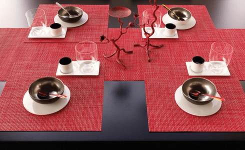 Chilewich Basketweave Placemats & Table Runners
