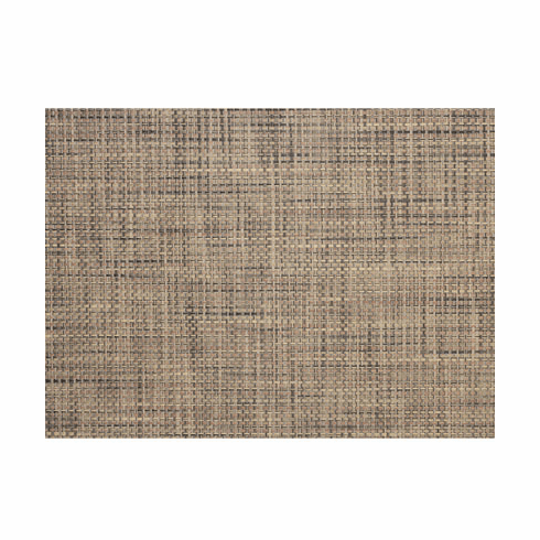 Chilewich Basketweave Table Mat 14x19 - Bark