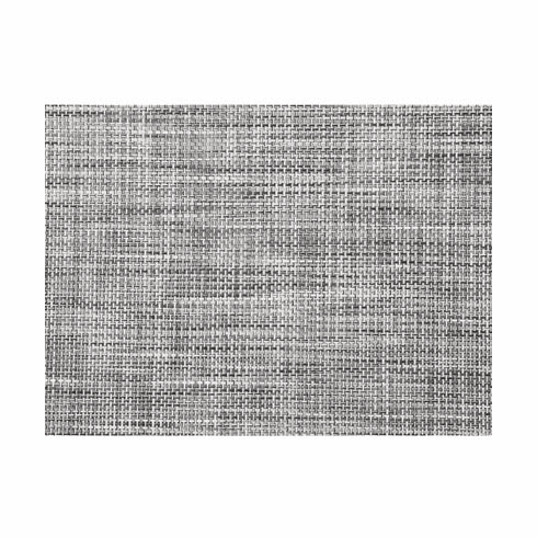 Chilewich Basketweave Table Mat 14x19 - Black