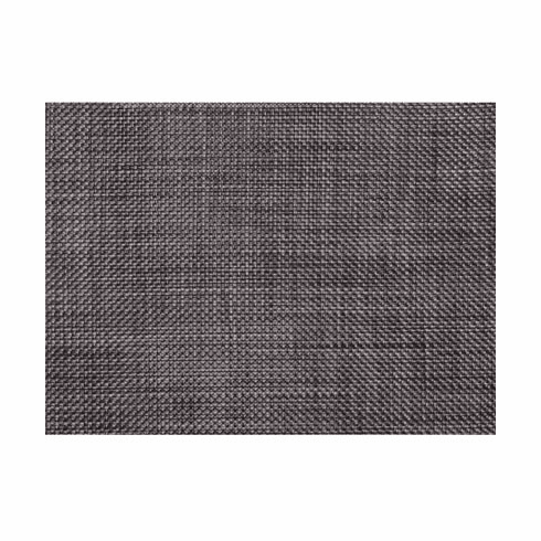 Chilewich Basketweave Table Mat 14x19 - Carbon