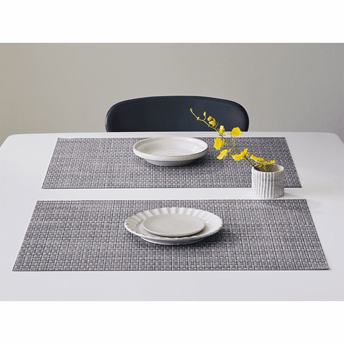 Chilewich Basketweave Table Mat 14X19 Shadow