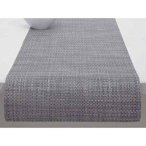 Chilewich Basketweave Table Runner 14X72 Shadow