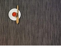 Chilewich Grey Flannel Bamboo Rectangle Placemat